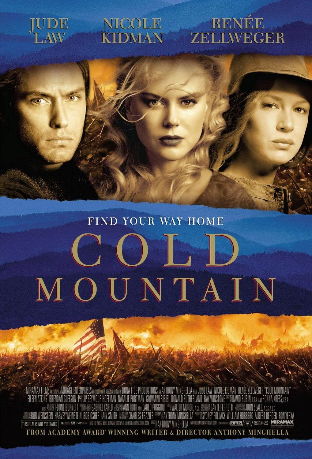 Cold Mountain — 4 out of 5 stars