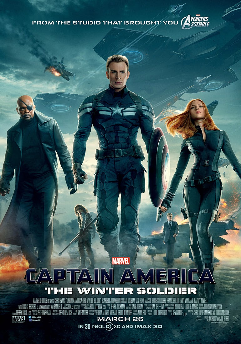 Captain America: The Winter Soldier — 3 out of 5 stars