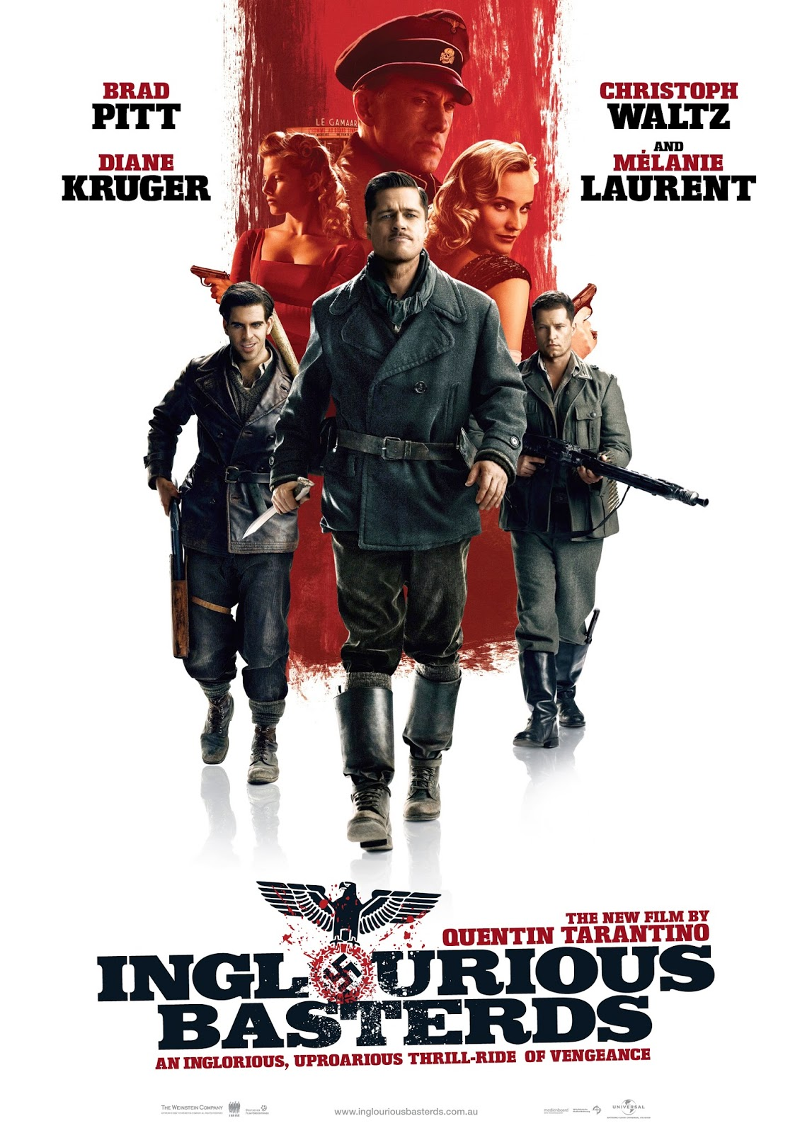Inglorious Basterds — 3 out of 5 stars
