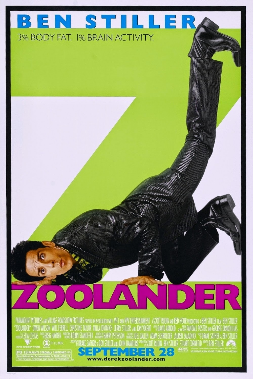 Zoolander — 0.5 out of 5 stars