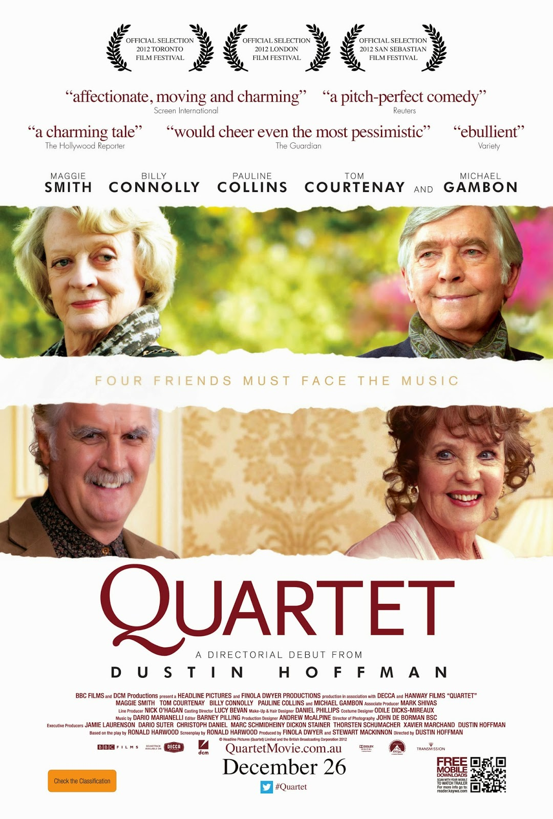Quartet — 4 out of 5 stars