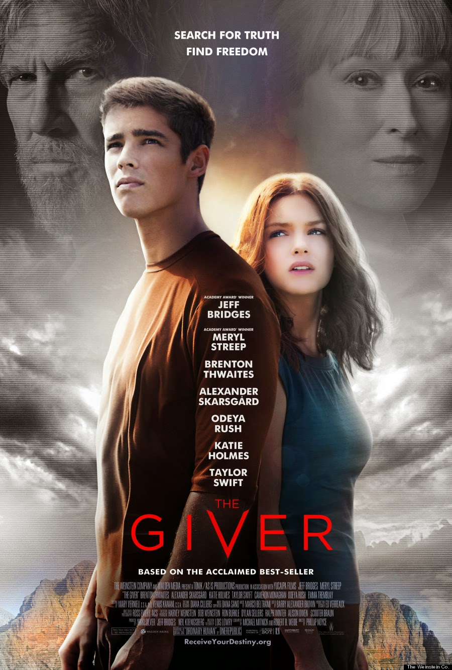 The Giver — 3.5 out of 5 stars