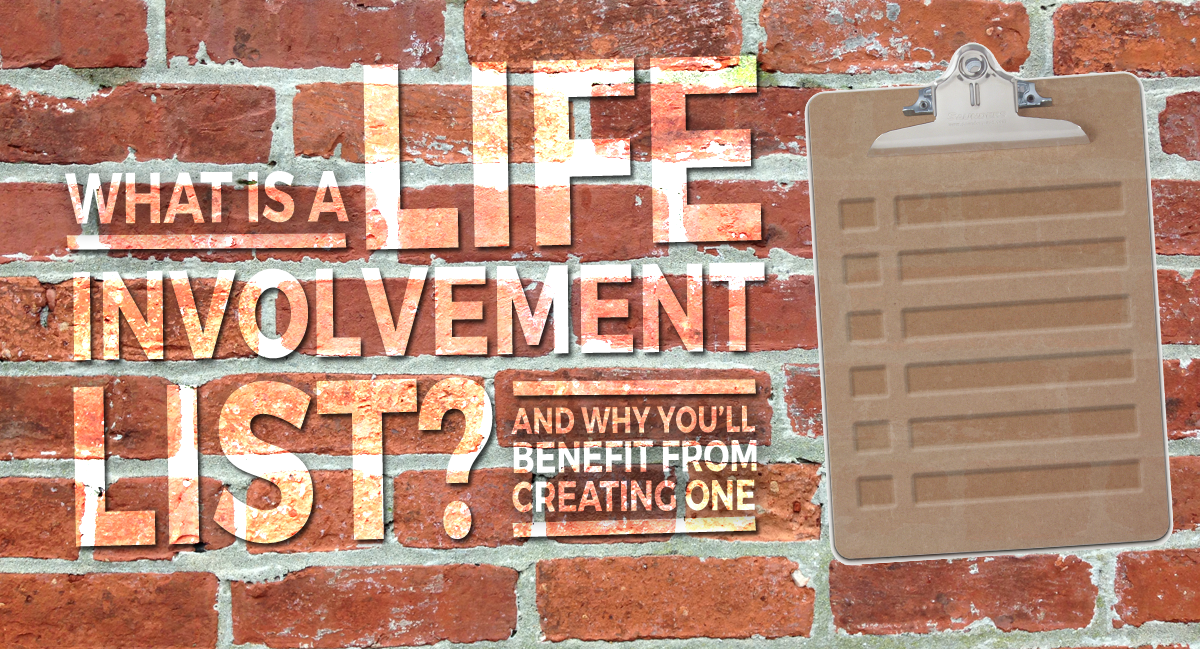 Life Involvement List